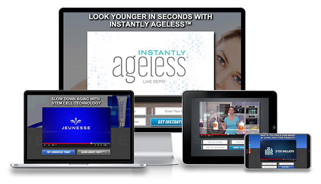 Jeunesse Replicated Website