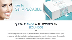 Instantly Ageless Spanish Landing Page