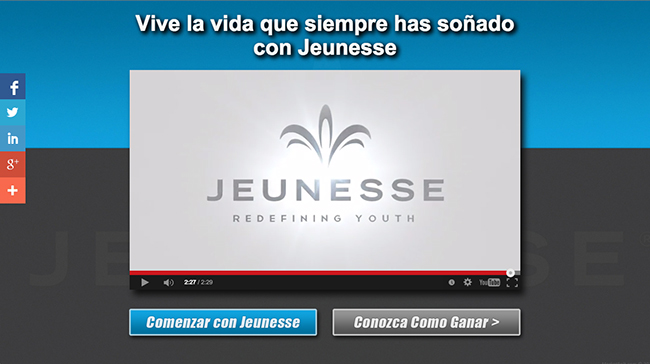 Jeunesse<br /> Spanish Opportunity