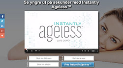 Instantly Ageless Norwegian Landing Page