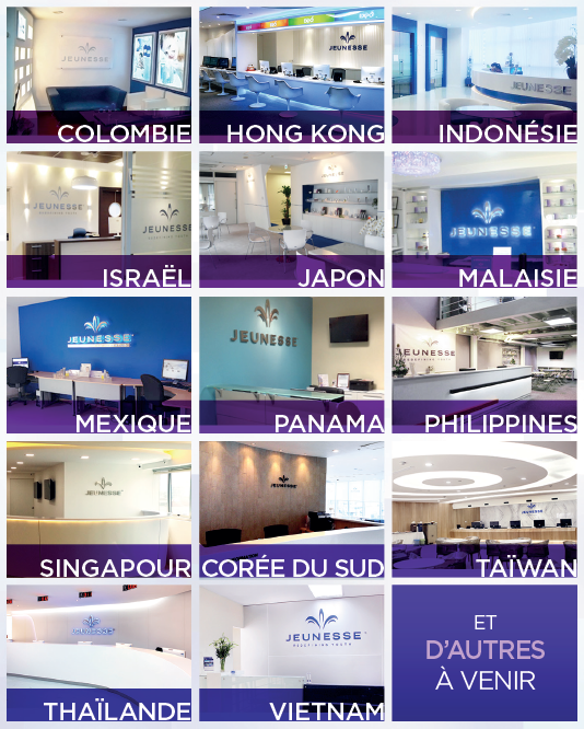 Jeunesse Global Offices