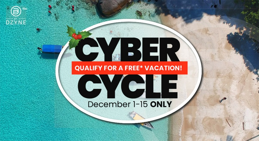 ByDzyne Cyber Cycle Holiday Promo