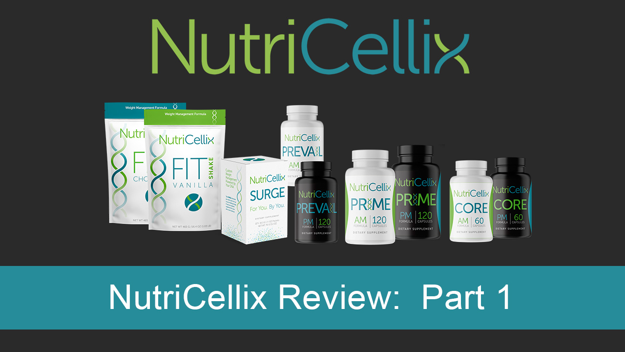 NutriCellix Review: Part 1