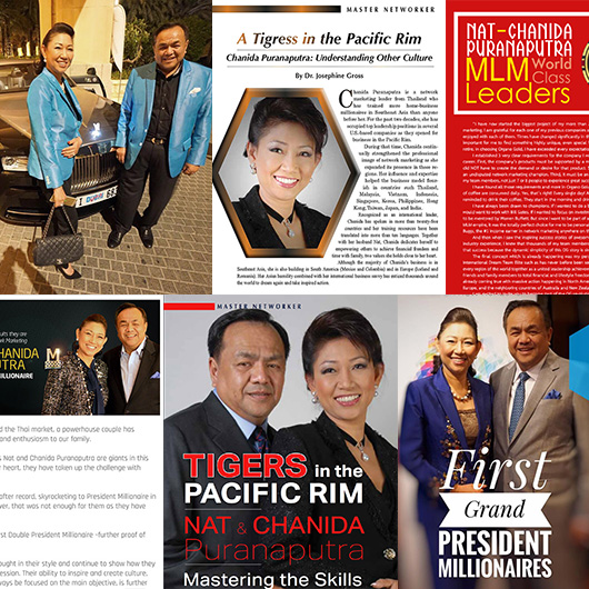 Nat and Chanida Puranaputra Accolades