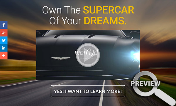 World Supercar Promotion Page