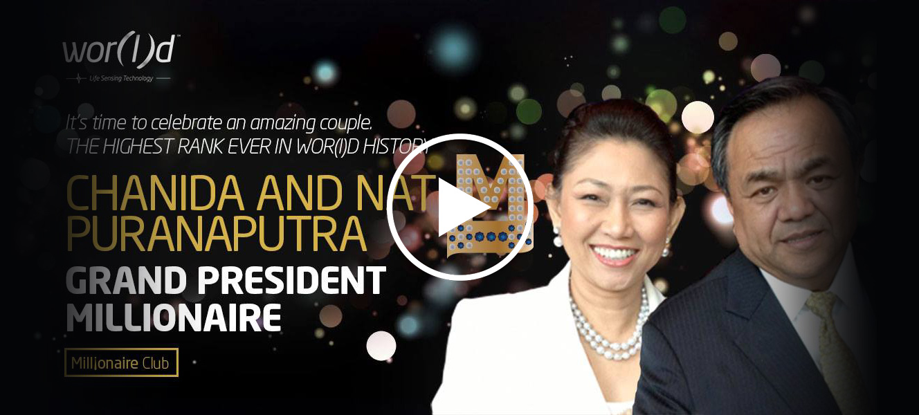 Nat and Chanida Puranaputra World Global Network
