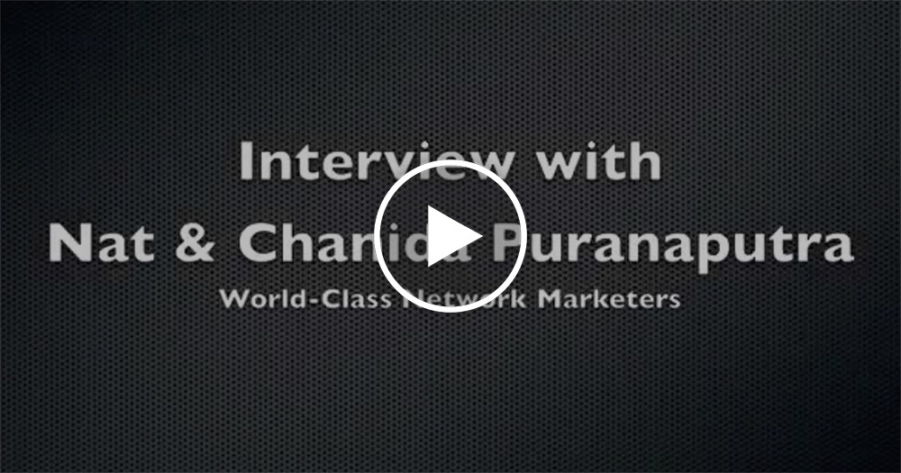 Nat and Chanida Puranaputra Interview Eric Worre NetworkMarketingPro